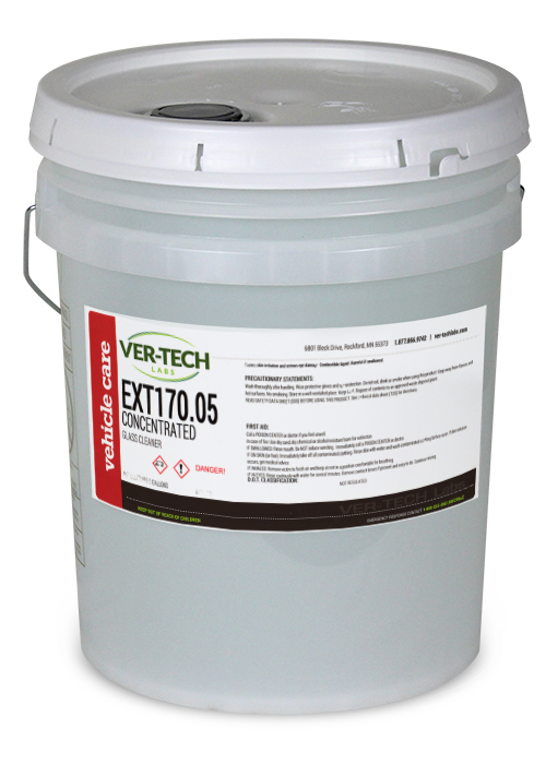 GLASS CLEANER, CONCENTRATED,NON STREAKING,QUICK SOIL PENETRATION