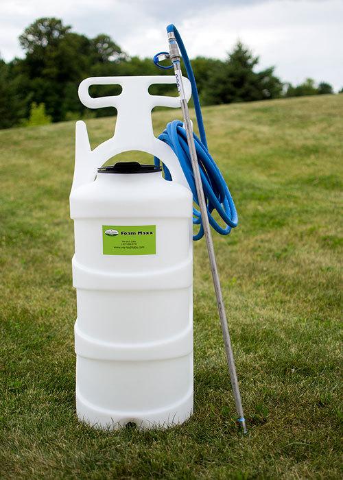 Portable 20 Gallon Foamer With Kalrez Pump