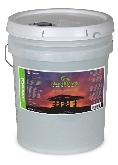 FUEL ISLAND CRADLE FUEL LINES CLEANER READY TO USE